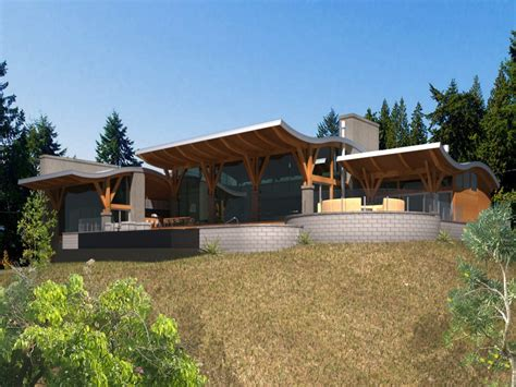 west coast contemporary home design coastal home plans