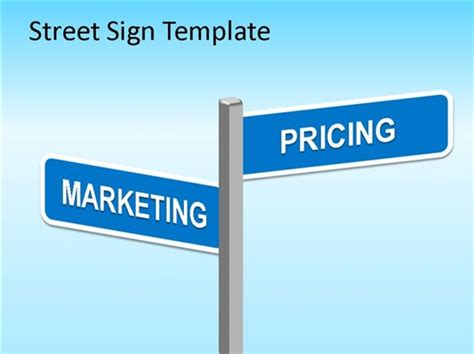 ppt free street signs and presentation on pinterest