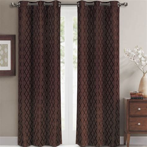 blackout curtains 63 inches long luxury egyptian bedding willow jacquard white grommet
