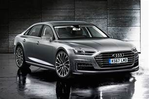 Audi A8 New Audi A8 Big Light Weight And Tech Upgrades For 2017