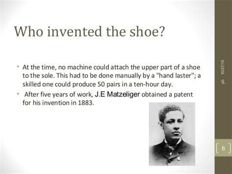 who invented the shoe history of shoes