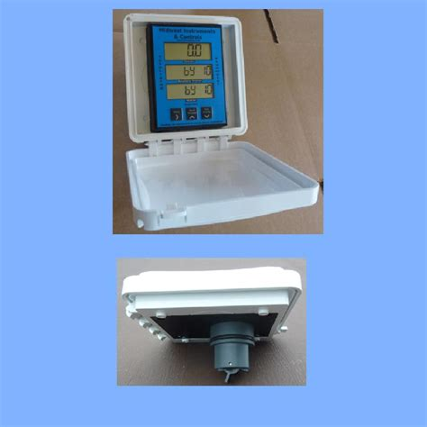 Flow Sensor Protector sun shade protects water flow meter from suns damaging uv rays