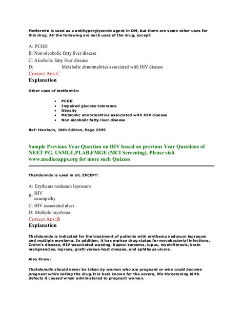 pattern based questions in c hiv aids sle questions based on neet pg usmle plab
