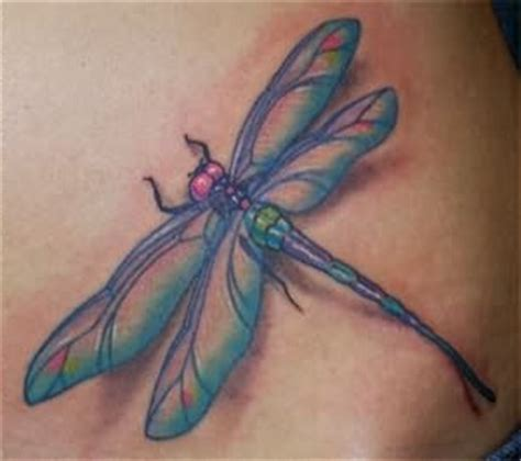 3d dragonfly tattoo designs realistic 3d dragonfly design on lower back