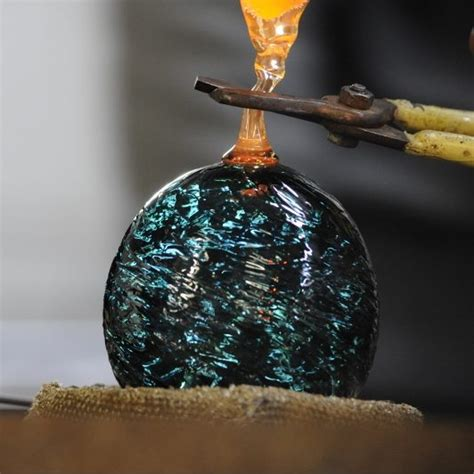 make your own ornament glassblowing sonoran glass school