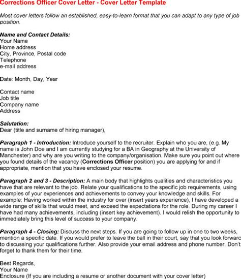 Detention Officer Cover Letter by Detention Officer Resume Templates
