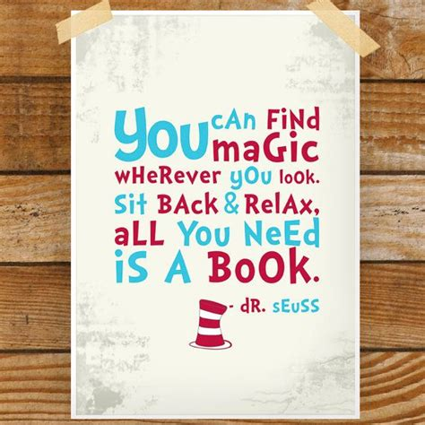 in this book you will find books dr seuss print from sunshineprintsco on etsy so