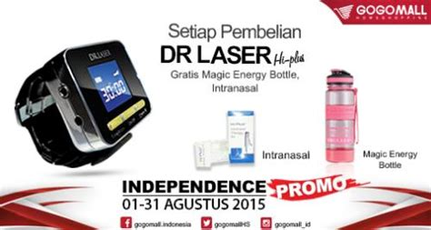 Dr Laser Hi Plus By alat terapi penyakit jantung kolesterol diabetes dr