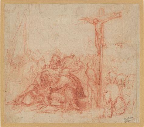 Alexandre Christie 2183 antonio pordenone crucifixion drawings the library museum