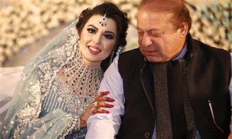 mahnoor safdar maryam nawaz daughters wedding pictures