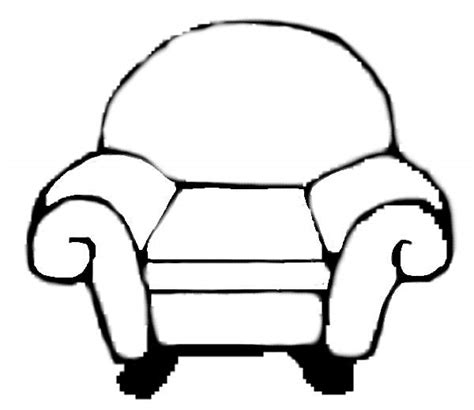 how to draw a couch easy easy chair drawing chairs model
