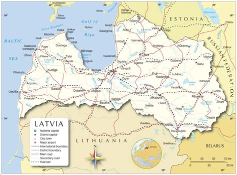 where is latvia on a map latvia map map of latvia latvia map in