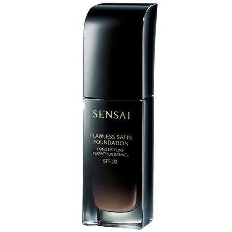flawless satin foundation spf 20 sensai skincity