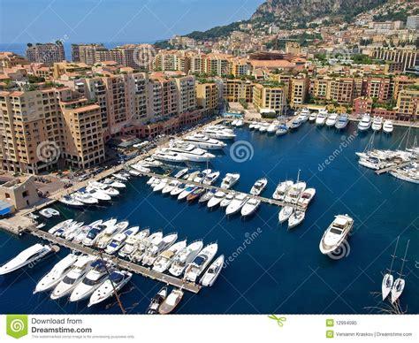 monte carlo port monte carlo port royalty free stock photo image 12994085