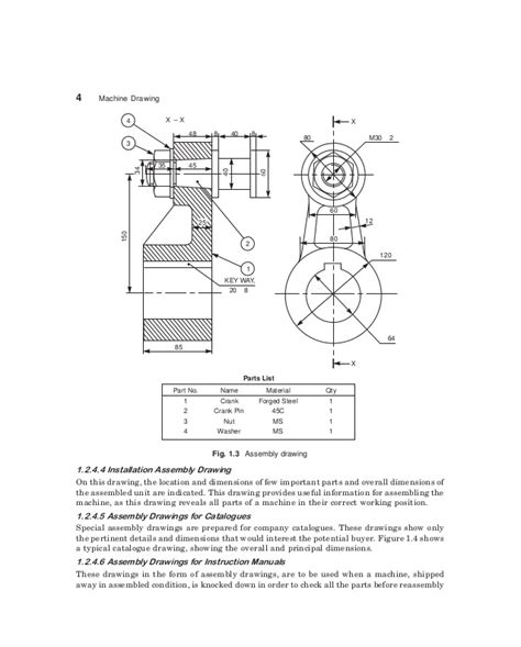 sectional views pdf machine drawing