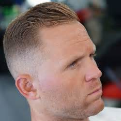 Galerry undercut hairstyle for high hairline