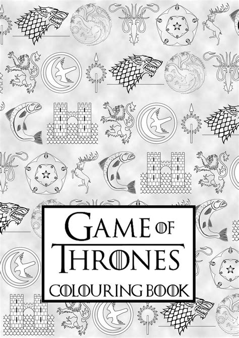 thrones coloring book singapore 1000 images about coloring pages on coloring