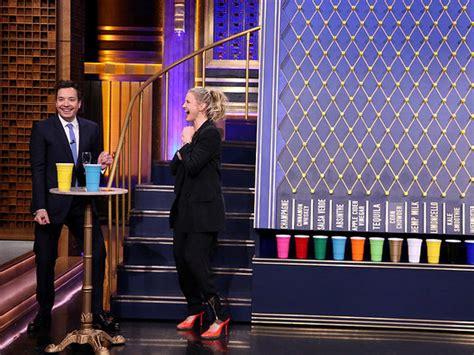 celebrity juice drinking games melissa mccarthy lip sync battle on the tonight show 2016