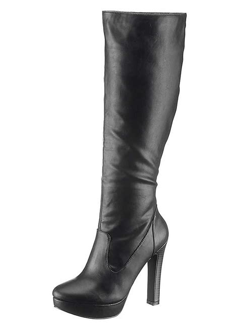 high heel boots knee high curvissa