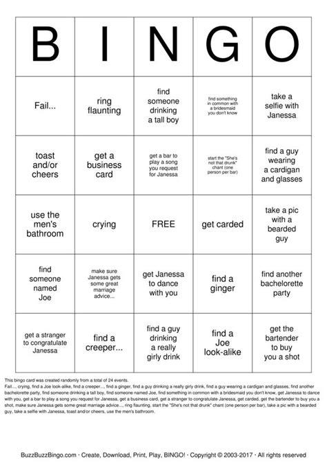 how do you make bingo cards drink bingo cards to print and customize