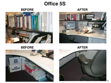service desk officer office 5s before after before