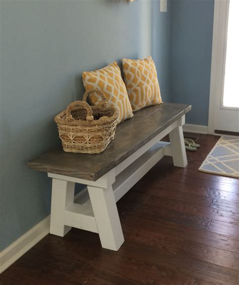ana white entry bench beach bench do it yourself home projects from ana white entry way tutorials