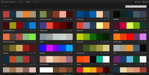 color matched 6 color matching techniques for web designers themes