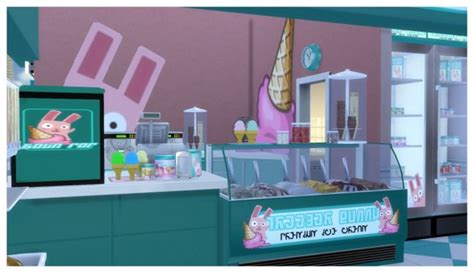 freezer bunny sims 4 freezer bunny ice cream stand v2 0 retail build at