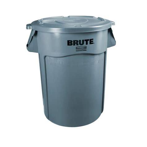 rubbermaid trash rubbermaid 32 gal brute trash container the home depot