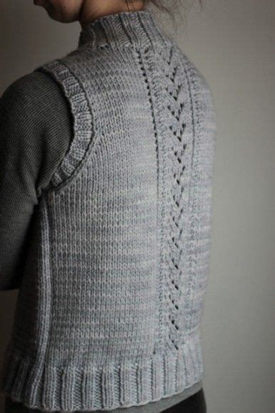 knitting pattern simple vest nordic trail vest easy seamless vest knitting pattern