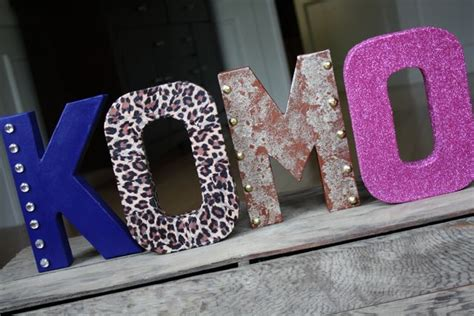 Letter Decoration Ideas Diy Letter Decor Ideas Yesterday On Tuesday