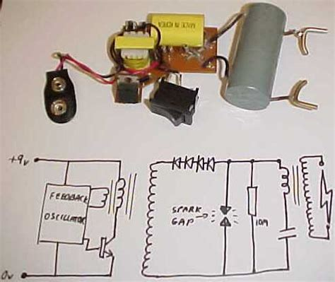 diy capacitor taser explore a stun gun