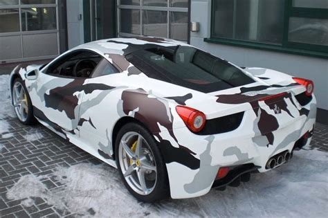 camo ferrari 458 star wars fans like me love yoda who could resist his