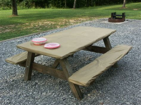 picnic tablecloth and bench covers woodworking plans display case display cabinet making 8