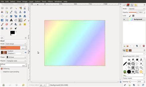 gimp tutorial effekte linien stil effekte mit dem verlaufswerkzeug tutorials