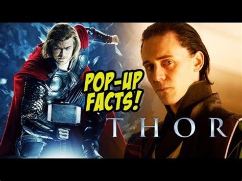 thor film up pop up movie facts thor 2011 chris hemsworth tom