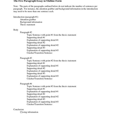 Persuasive Essay Outline High School Writings And Essays School Outline Template