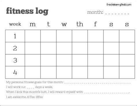 accountability log template 25 best workout log ideas on daily ab