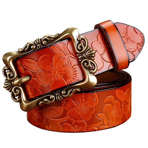 sale new fashion wide genuine leather belt