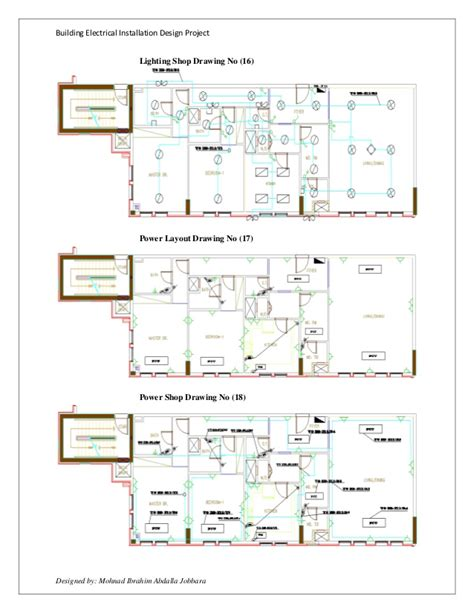 electrical installation design project dubai standard by