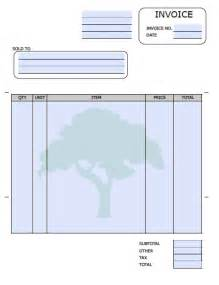 lawn care invoice template word excel invoice template