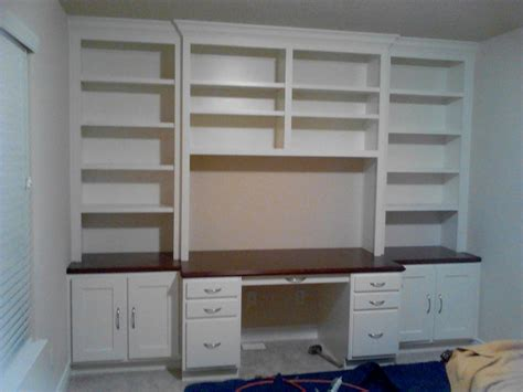 Custom Built Office Desk by Custom Cabinet Houston Built In Desk In The Heights Jared