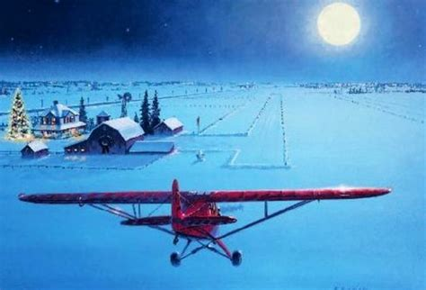 aopa christmas card      aviation