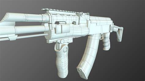 free download cgtrader models tactical ak 47 lod 1 sle free 3d model ready cgtrader