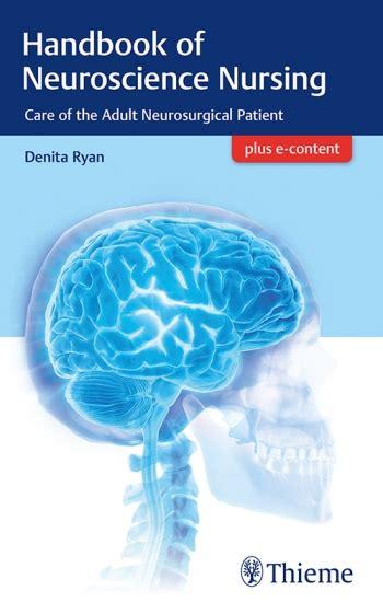 neurosurgery handbook of neuroscience nursing