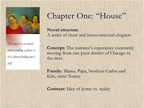 the house on mango street summary chapter one and two summary analysis