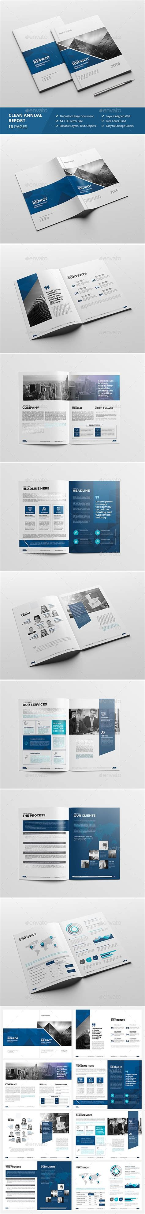 Https Graphicriver Net Item Divided Annual Report Template 13185075 Haweya Modern Annual Report Annual Report Design