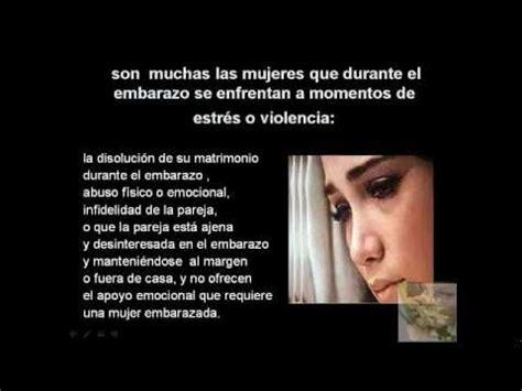 el beb emocional 8499916848 embarazo y violencia emocional tristeza y peligro youtube