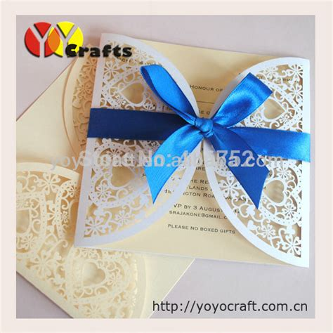 Paper Prince Wedding Invitations by Wholesale Paper Invitation Card 50sets Laser Cut