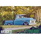 1957 Chevrolet Chevy 3200 Bagged Air Ride Suspension